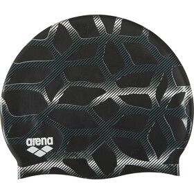 arena Print 2 Swimming Cap spider-black